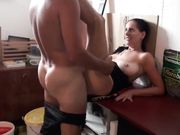 Horny mature woman spreading legs for husband he penetrates her good